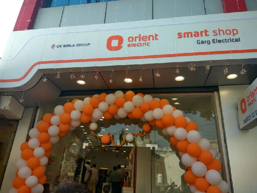 Opening ceremony of Orient Electric Smart Shop in Ballabgarh