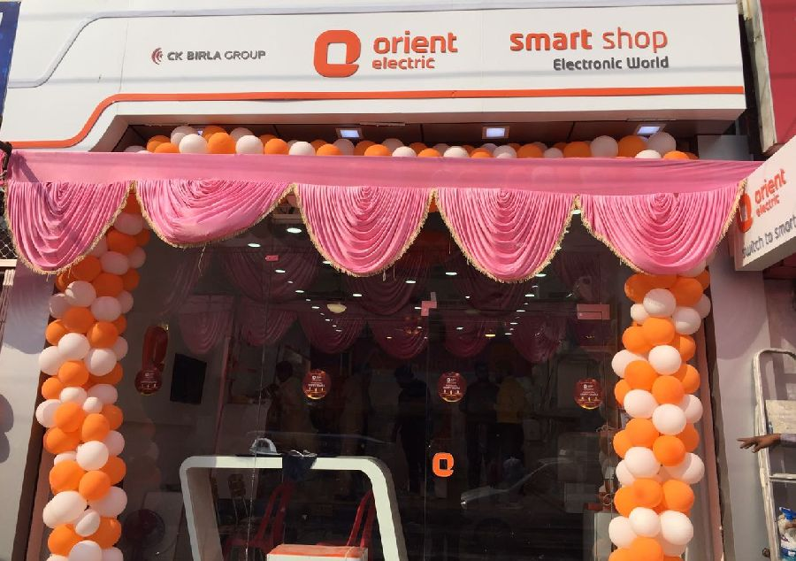 Grand opening of Orient Electric Smart Shop in Kanpur