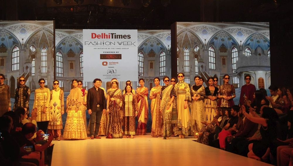 Association with Delhi Times Fashion Week