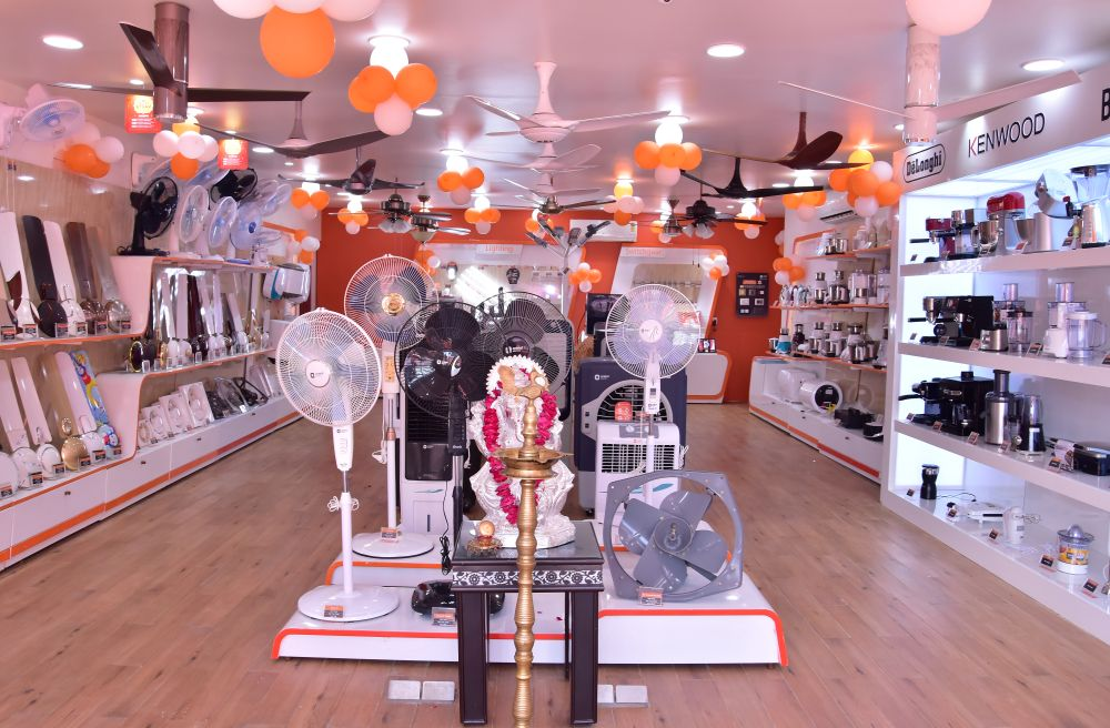 Opening ceremony of Orient Electric Smart Shop in Jaipur
