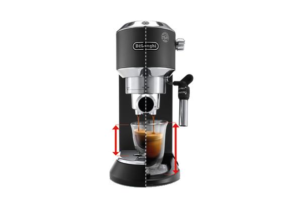 Dedica Style EC 685.BK Pump espresso