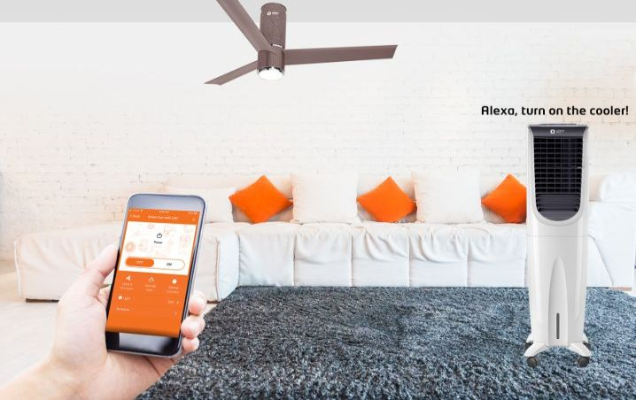 Now, you can ask Alexa to control your fan or air cooler!