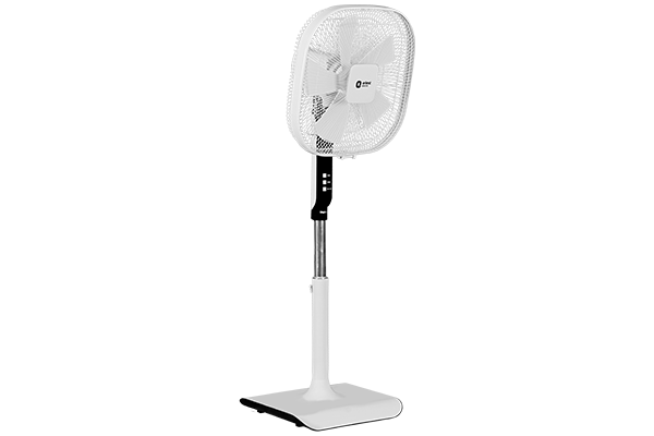 Stylus White Pedestal Fan