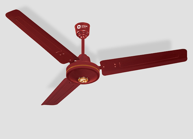 Deluxe Ceiling Fan Brown