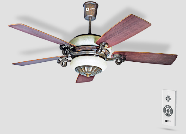 Orient Valeria Under Light Ceiling Fan