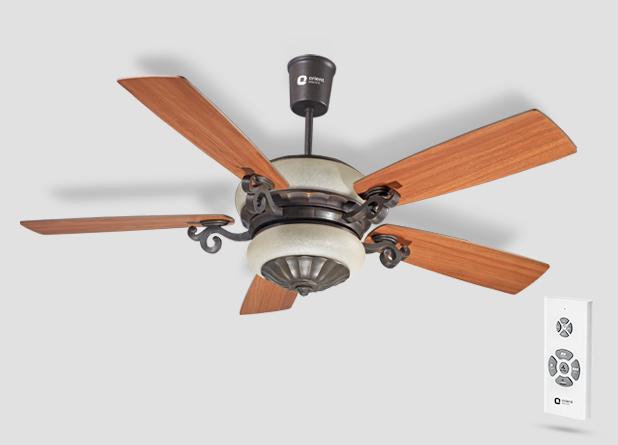 Orient Valeria Under Light Ceiling Fan