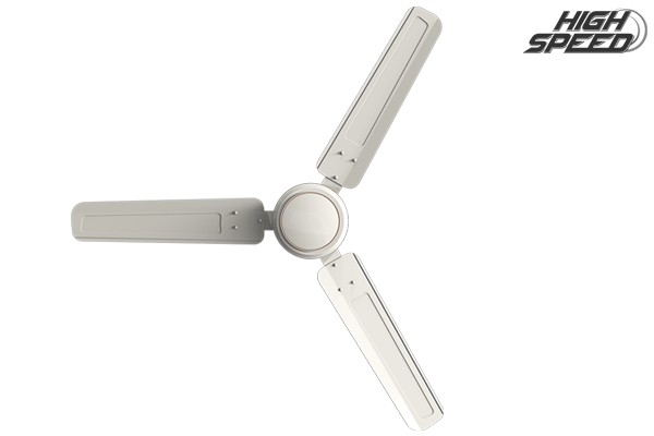 Rapid Air High Speed Ceiling Fan - Ivory