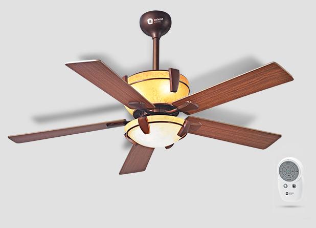 Orient Adalia Under Light Ceiling Fan