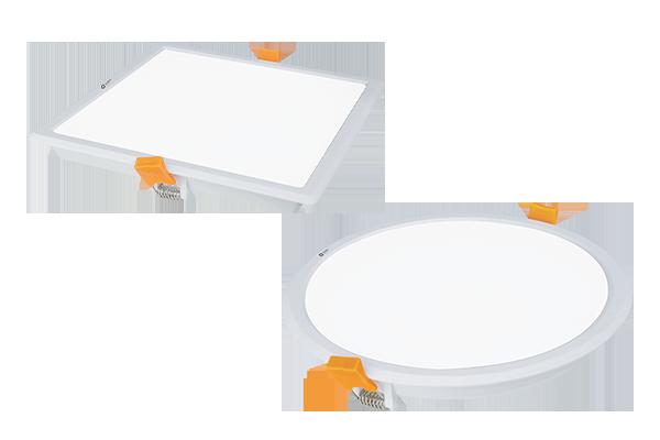 LED Panel Recess- Backlit<br>12W