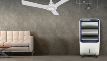 Beat the heat the efficient way with Inverter fans and air coolers with ECM technology