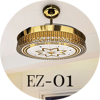 Eleganza EZ 01 Chandelier Fan