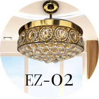 Eleganza EZ 02 Chandelier Fan