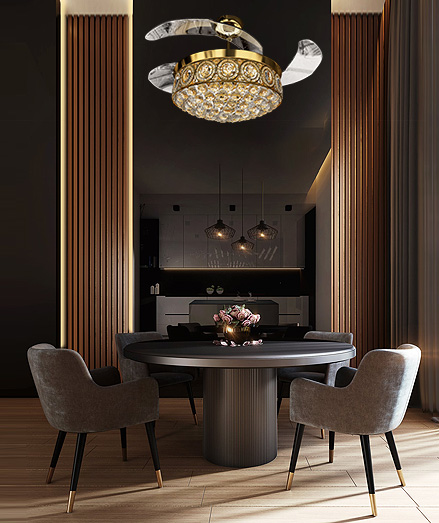Eleganza Air-Circulating Luxury Chandeliers
