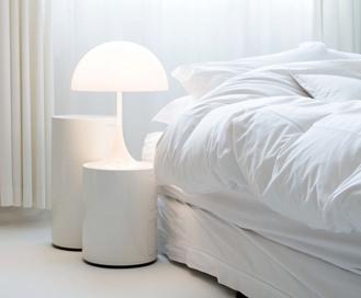 Emergency LED Bulb in Bathroom