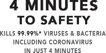 Orient UV Sanitech Kills 99% Viruses